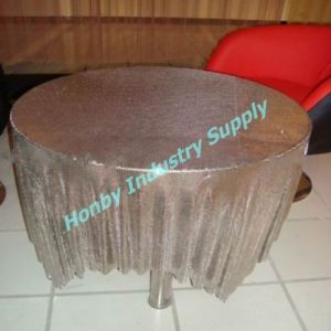 Metal Mesh Fabric Table Cloth/Table Cover/Table Runner pictures & photos