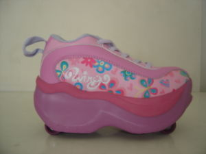 High Quality 4-Wheel Flying Roller Skate Shoes (B15101) pictures & photos