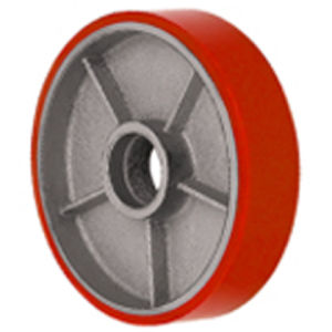 PU Forklift Wheel Caster (3011) pictures & photos