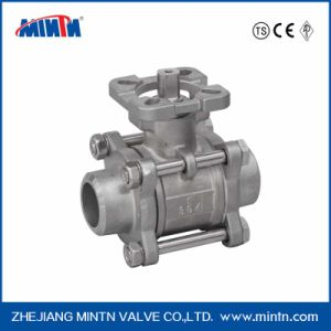 Mintn High Platform Welded Connection Ball Valve