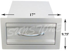 Outdoor Kitchen Access Drawer