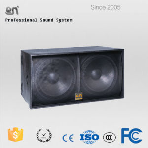1200W RMS 4ohm Dual 18inch Subwoofer Sound System Speaker Box pictures & photos