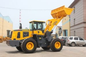 Joystick Control Loader Construction Machine Lq956 Cat Sem Wheel Loader pictures & photos