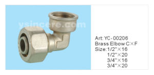 Compression Fittings for PEX-AL-PEX Pipe pictures & photos
