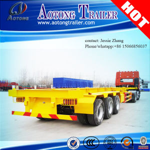 40FT Skeleton Container Transport Semi Truck Trailer pictures & photos