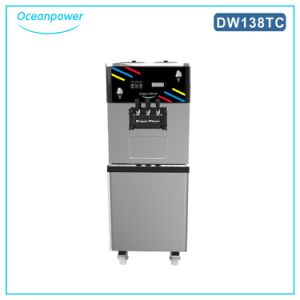 Dw138tc Yogurt Ice Cream Machine, The Soft Serve Ice Cream Machine with Large Capacity pictures & photos