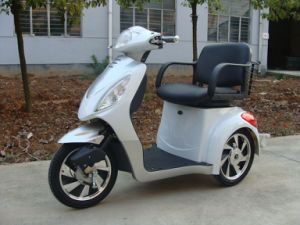 Mobility Scooter Es-008b White/Sliver