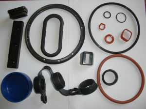 Customized Eco Friendly Vulcanized Rubber Products pictures & photos