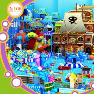 Ocean Theme Baby Indoor Play Area for Game Room pictures & photos