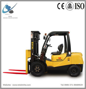 3.5 Ton Diesel Forklift Truck with Japanese Isuzu 4jg2 Engine pictures & photos