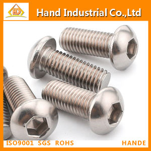 Hex Socket Button Head Machine Screw (ISO7380) pictures & photos