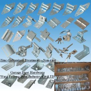 Garage Door Hinges, Hardware/Parts ---Non-rust Treatment