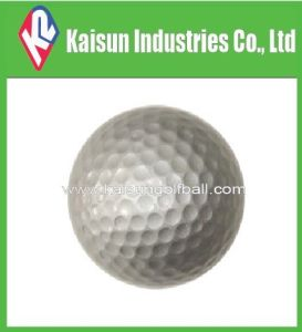 Silver Golf Ball/Plate Color Golf Ball