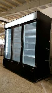 R404A 3 Door Commercial Upright Display Freezer pictures & photos