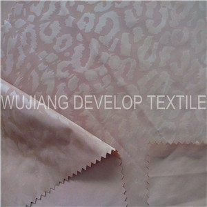 75D Polyester Memory Fashion Embossed Fabric for Jacket Fabric (DT3102)