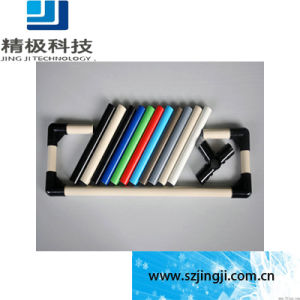 Steel Plastic Pipe ABS/PE Coated Outside Plastic-Coated Multiunit Pipe for Pipe Rack System (HJ-4000)