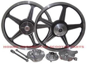 Motorcycle Spare Parts, Wheel Assy, Aluminum Alloy Wheel