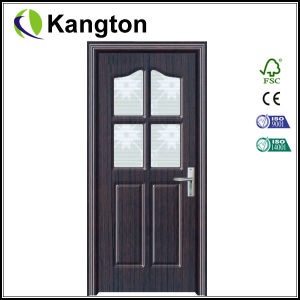 Interior Wooden Door with MDF and PVC (PVC door) pictures & photos