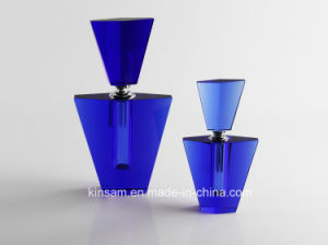 Fashion Violet Crystal Glass Perfume Bottle Craft pictures & photos