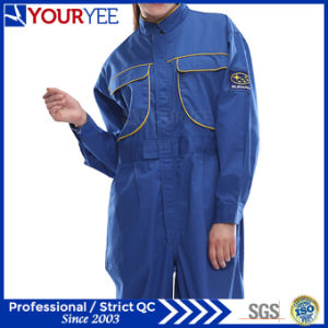 Blue Coveralls for Women Fashionable Work Wear (YLT116)