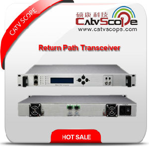 High Performance Indoor 2way Return Path Optical Receiver Transceiver