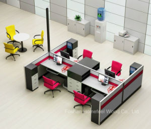 New Design Modern Office Workstation with Filing Cabinet (HF-YZQ790) pictures & photos