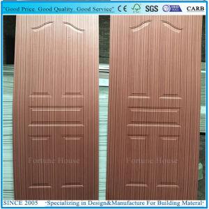 Moulded Plywood Door Skin with Cherry/Wenge Wood Veneer pictures & photos