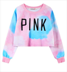Womens Pullover Long Sleeve Crop Sweater Harajuku (ELTSTJ-725) pictures & photos