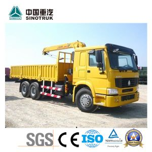 Competive Price Straight Arm Truck-Mounted Crane of 25 Ton