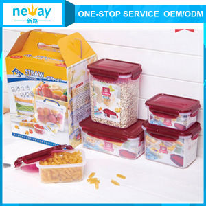 Neway 5 Pieces Plastic Storage Box pictures & photos