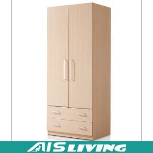 Fashion Custom Solid Wood Wardrobe Closet (AIS-W116)