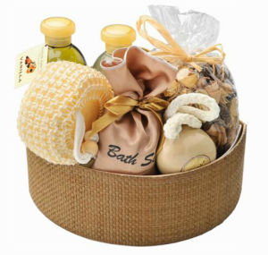 New Arrival Printing Ceramic Accessories Gift Bath Set pictures & photos