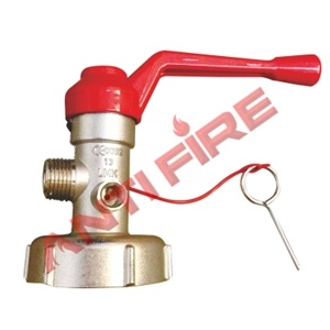 Wheeled Dry Powder Fire Extinguisher Valve pictures & photos