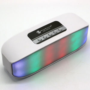 2016 New Style Newrixing Disco Music Mini Bluetooth Speaker with LED Light High Quality Sounds
