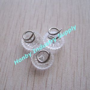 Uphostery Clear Plastic Head Twist Pins for Furniture (P160111E) pictures & photos