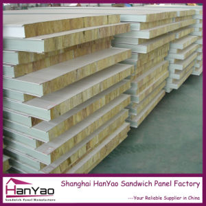 Shanghai Factory Price Fireproof Thermal Insulated Steel Sandwich Panel for House Building pictures & photos
