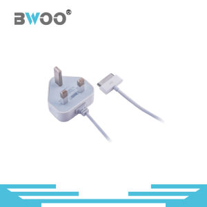 2.1A UK Plug Travel Wall Charger USB with Lightning/Micro Cable pictures & photos