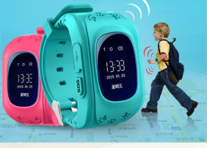 2015 Best Seller Kids Watch Phone with GPS Tracking and Remote Monitoring