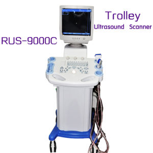 14 Inch Monitor Trolley Ultrasound Scanner (RUS-9000C) Ultrasounic Machine with CE ISO Certification pictures & photos