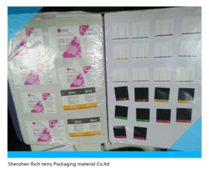 Printing Color Daily Chemical Stickers pictures & photos