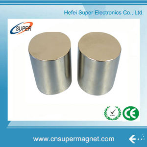 N50 Big Size Strong Permanent Neodymium Cylinder Magnet pictures & photos