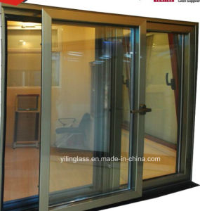 Energy Saving Double Glazing Aluminium Sliding Window pictures & photos