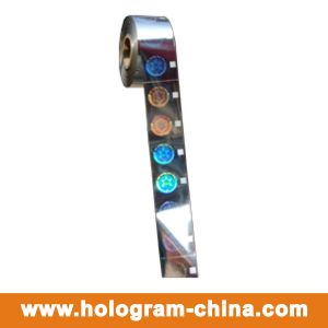 2D/3D Security Roll Hologram Foil Stamping pictures & photos