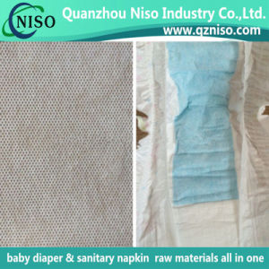 Perforated PP Spunbond Nonwoven Fabric for Baby Diaper pictures & photos