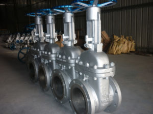ANSI 16.5 B API600 Asme Cast Steel Wcb Gate Valve pictures & photos