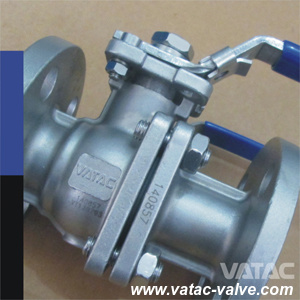 3 Pieces Forged&Casted A105 Cl150 Floating&Trunnion Ball Valve pictures & photos
