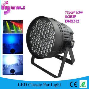 72PCS RGBW LED PAR for Studio Stage Party (HL-036)