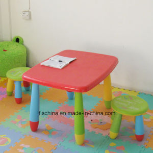 Plastic Children Square Table Easy to Carry pictures & photos