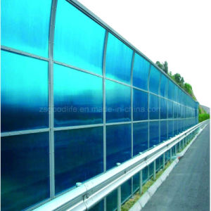 Double Side UV Protection Polycarbonate Sheet for Sound Absorption Wall for Freeways pictures & photos