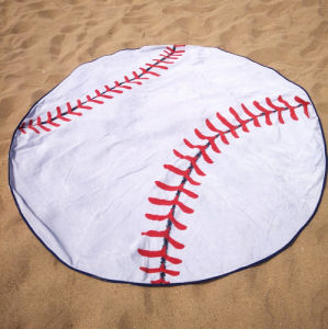 The Chiffon Printed Round Beach Towel